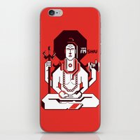 shiva iPhone & iPod Skins featuring Shiva by Tshirtbaba
