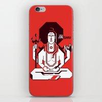 shiva iPhone & iPod Skins featuring Shiva by Tshirtbaba