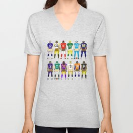 Football Butts Unisex V-Neck