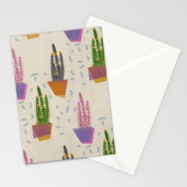 Cacti in the pot Stationery Cards