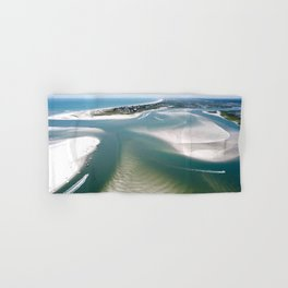 Rich's Inlet at the North End of Figure 8 Island | Wilmington NC Hand & Bath Towel