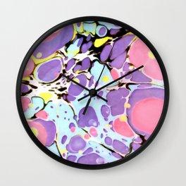 Surprise #Abstract #Art by Menega Sabidussi #society6 Wall Clock