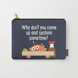 Fishing for Affection Carry-All Pouch