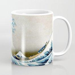 The great wave, famous Japanese artwork Coffee Mug
