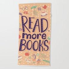 Read more books Beach Towel
