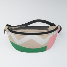 Mountains at Sunset Fanny Pack