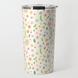 Colourful Daisies Travel Mug