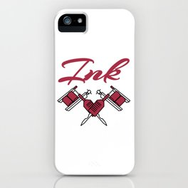 """Are you an """"Ink addict""""? Here's the perfect tee for you! Will make a blast to your holiday!  iPhone Case"""