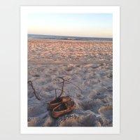 Summer in the Hamptons Art Print