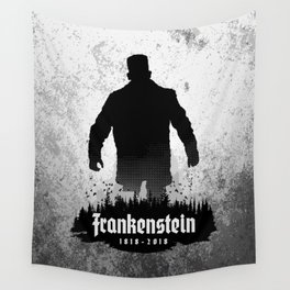Frankenstein 1818-2018 - 200th Anniversary Wall Tapestry