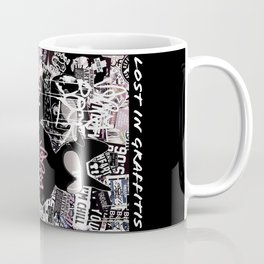 Lost in Graffitis (very rock) Coffee Mug