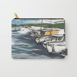 Sausalito Marina Carry-All Pouch