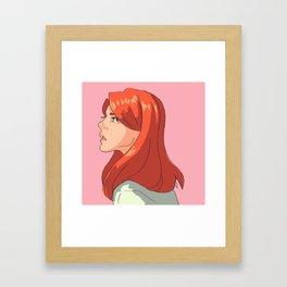 Evans Framed Art Print