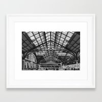 liverpool Framed Art Prints featuring Liverpool Station by West of East
