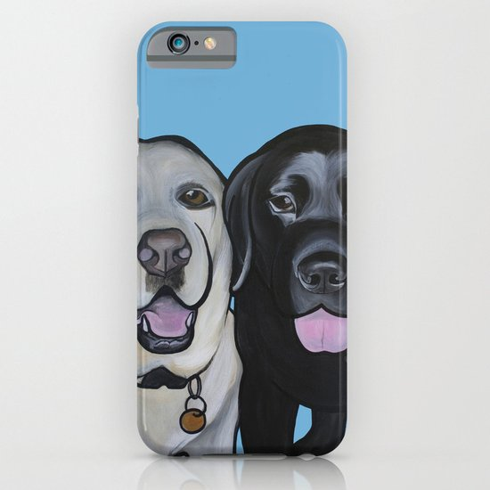 Indie & Daisy the labs iPhone & iPod Case