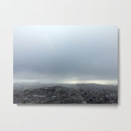 San Francisco Fog Metal Print
