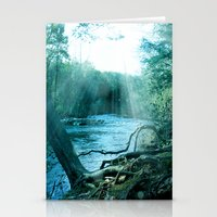woods Stationery Cards featuring woods  by mark ashkenazi
