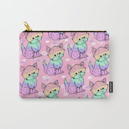 Rainbow Cats Carry-All Pouch