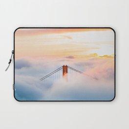 Golden Gate Bridge at Sunrise from Hawk Hill - San Francisco, California Laptop Sleeve