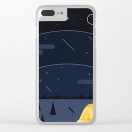 Underneath The Stars Clear iPhone Case