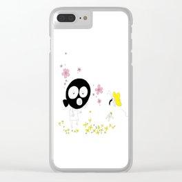 Spring air Clear iPhone Case
