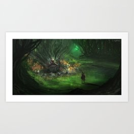 Soul of the Forest Art Print