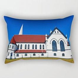 St. Mary's Church side view Rectangular Pillow