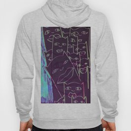 your eyes (disillusioned.)  Hoody