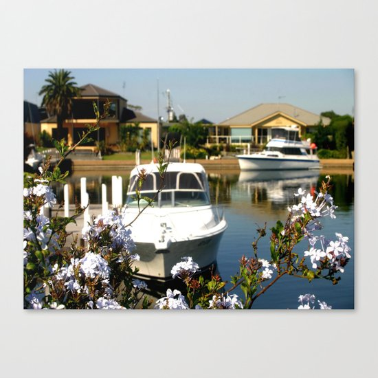 For the Rich & Famous - Paynesville Canvas Print