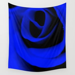 Blue Rose II Wall Tapestry