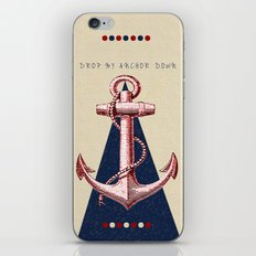 Anchor Down iPhone & iPod Skin
