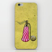 perfume iPhone & iPod Skins featuring Perfume by MR VELA