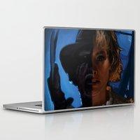 freddy krueger Laptop & iPad Skins featuring Freddy Krueger - Never Sleep Again by Saint Genesis