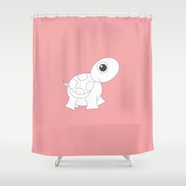 YOUR.TURTLE Shower Curtain