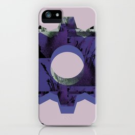 IMPROBABLE GREASE REEL blue iPhone Case