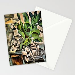 Still life with Skull After Bohumil Kubista Stationery Cards