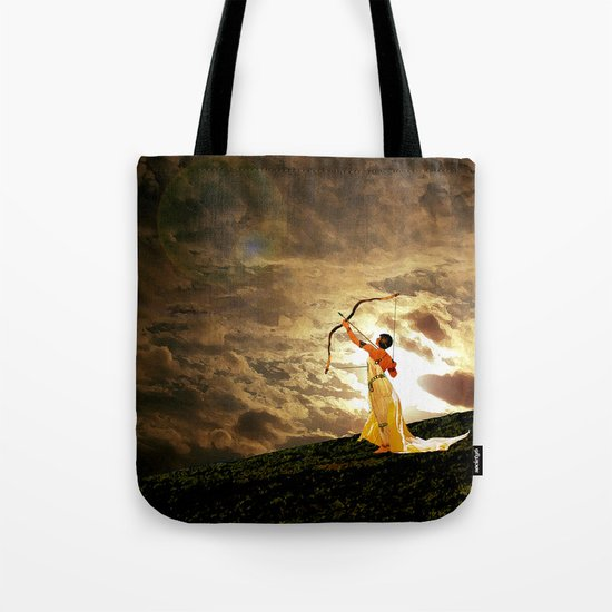 The Far Side of Midnight Tote Bag