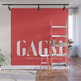 graphic arts gallery of melbourne (GAGM) ID print  Wall Mural