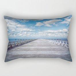 pier photography Rectangular Pillow