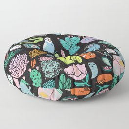 Various Objects III Floor Pillow