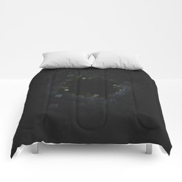 Lazy Crystal Growth Comforters