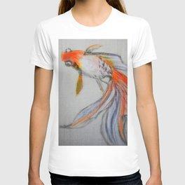 Goldfish Pond (close up #10) #society6 #decor #buyart T-shirt