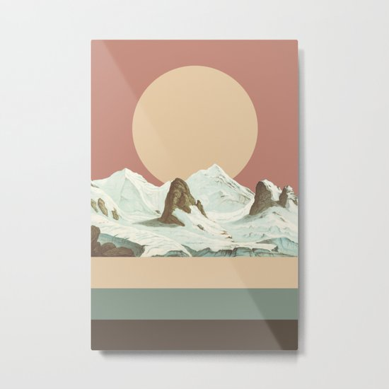 MTN II Metal Print