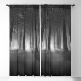 Soul of the Forest B&W Blackout Curtain