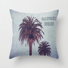 California Dreams Throw Pillow