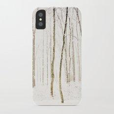 Snowy Trail iPhone X Slim Case
