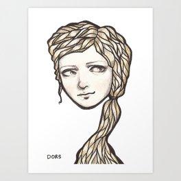 Lollie Art Print