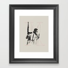 By any means necessary Framed Art Print