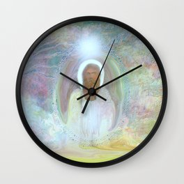 Be At Peace by Sherri Of Palm Springs Wall Clock