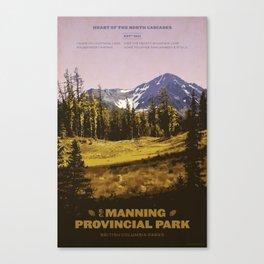 E. C. Manning Provincial Park Canvas Print
